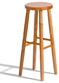 Drevená barová stolička do kuchyne Gigi