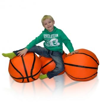 Sedací vak - prevedenie lopta Basketbal L