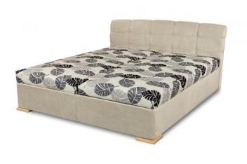 Čalúnená manželská posteľ Violetta - variant svetlá