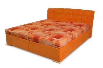 Manželská čalúnená posteľ VIOLETTA