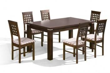 Jedálenský stôl z masívu - varianta Premier