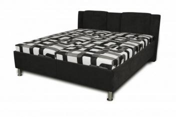 Čalúnená posteľ Sophia - čierna