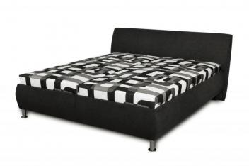 Čalúnená posteľ Magie - čierna