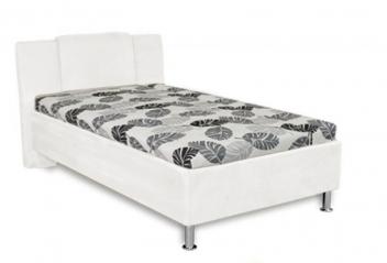 Jednolôžková čalúnená posteľ Monako - svetlá