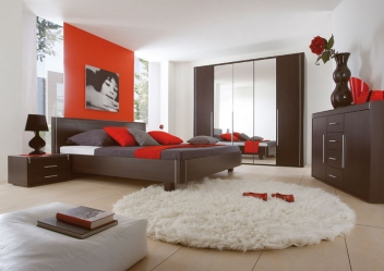 Moderná spálňa Volinois wenge