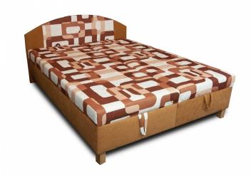 Čalúnená manželská posteľ Mineta