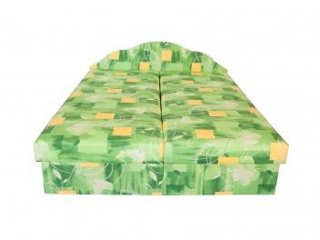 Čalúnená posteľ s úložným priestorom Miriana