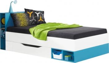 Študentská posteľ s úložným priestorom Poly 18