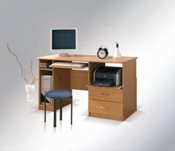 PC stôl Marek so zásuvkami
