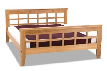 Moderná posteľ z masívu Vladan