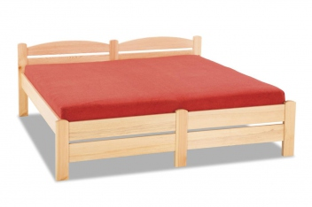 Manželská posteľ Irena z masívu