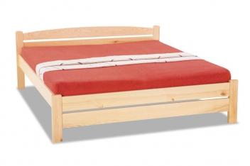 Manželská posteľ z masívu Baltazar