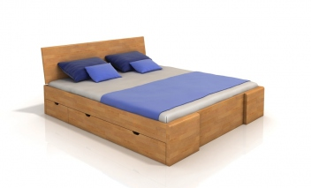 Manželská posteľ Visa 5 s úložným priestorom