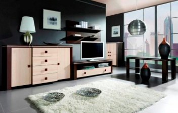 Obývacia stena - zostava Edita 7