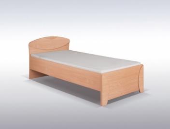 Lacná jednolôžková posteľ pre študentov Diana