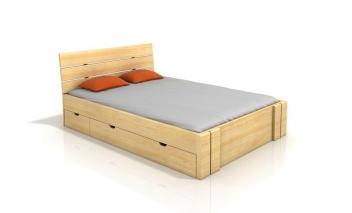 Manželská posteľ s úložným priestorom Katrine 2