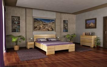 Moderná spálňa Hampus