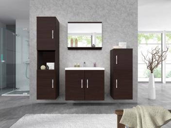 Lacný nábytok do kúpeľne Marisol - wenge