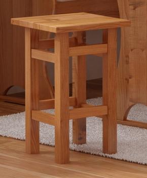 Drevený taburet Henrik