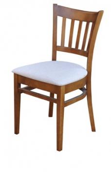Jedálenská stolička z masívu Aldi
