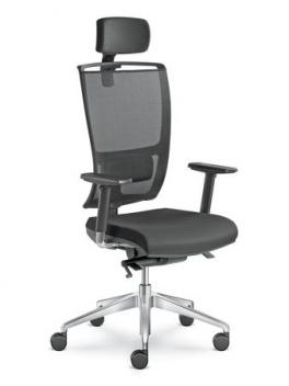 Otočná kancelárska stolička Linda
