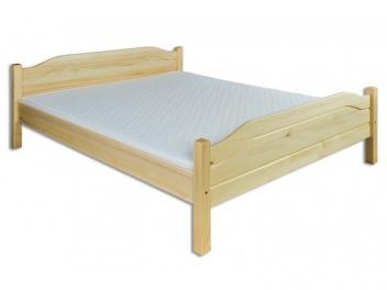 Manželská posteľ Azura z masívu borovice