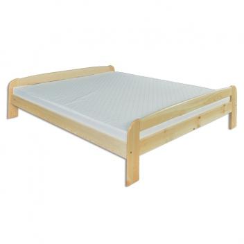 Dvojlôžková posteľ z masívu Efram