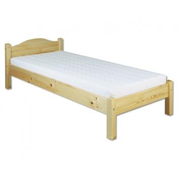 Jednolôžková posteľ Erlinda z masívu borovice