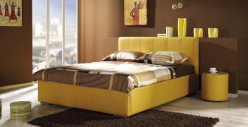 Manželská posteľ s úložným priestorom Betty