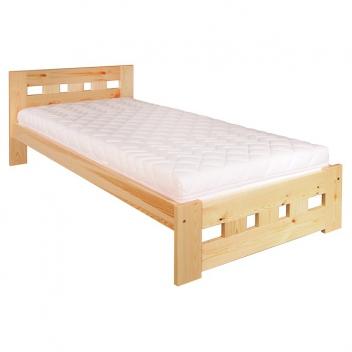 Jednolôžková posteľ Neria - masív borovica