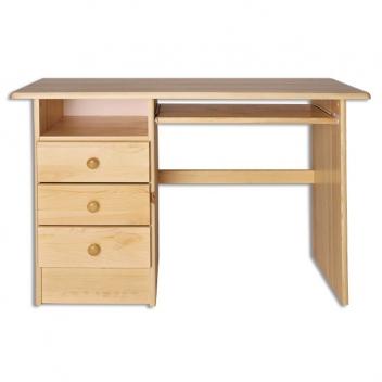 Jednoduchý drevený písací stôl Elias