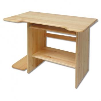 Malý borovicový písací / počítačový stôl Jalo