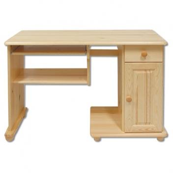 Praktický masívny písací stôl Helmi z borovice
