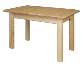 Rozkladací drevený jedálenský stôl Tarmo z borovice