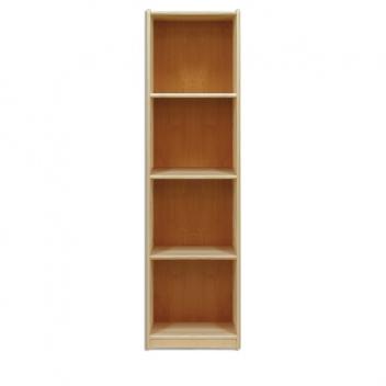 Jednoduchá policová knižnica Kale z borovicového dreva