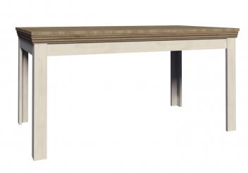 Rustikálny jedálenský stôl Meryl 1 - borovica nordic / dub divoký