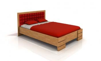 Drevená posteľ Erland 3 v niekoľkých rozmeroch
