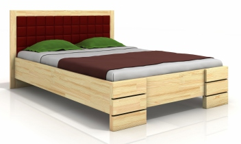 Luxusná posteľ s čalúneným čelom Erland 4