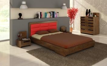 Moderný nábytok do spálne Inga z masívu buka