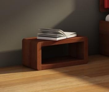 Nočný stolík Bent 2 z masívu borovice