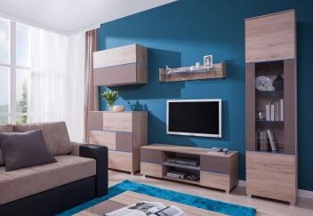Moderná obývacia zostava Tesa 8