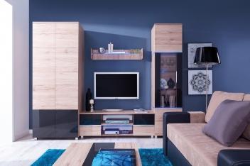 Klasická obývacia zostava Tesa 7