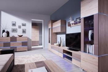 Elegantná obývacia zostava Tesa 3