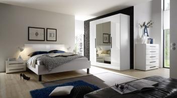 Biela spálňa Serina