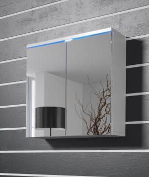 Kúpeľňová skrinka so zrkadlom Elenia bbl 4