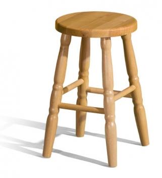 Drevená barová stolička Bonita