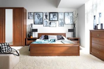 Nábytok do spálne Frez - višňa primavera