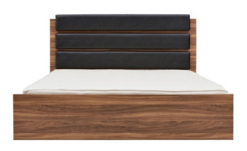 Dvojlôžková posteľ s vysokým čelom Magnetus
