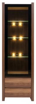 Vitrína s LED osvetlením Magnetus 1