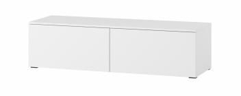 Biely televízny stolík Lofera 1